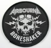 Airbourne - 'Boneshaker' Woven Patch